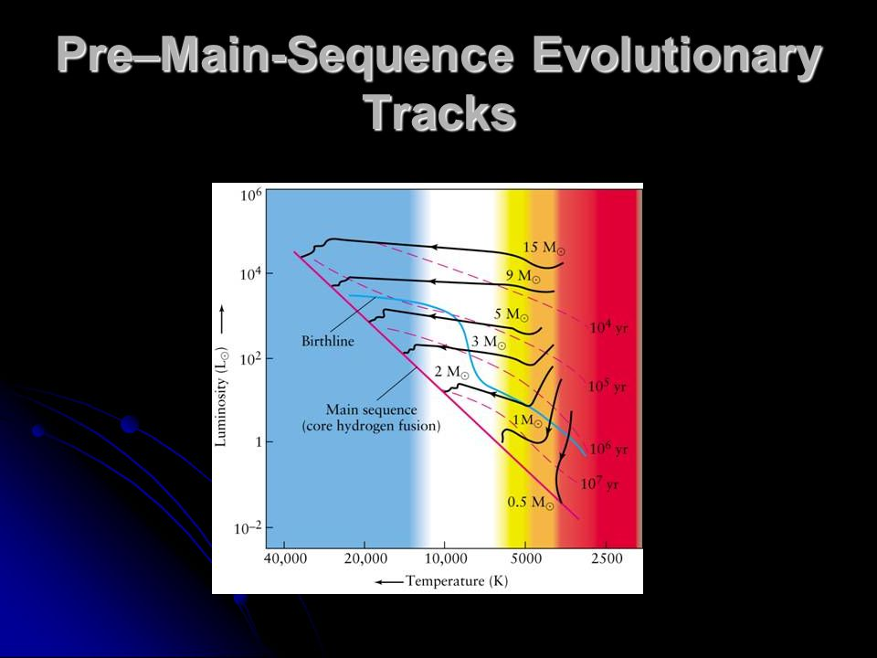 Pre–Main-Sequence Evolutionary Tracks