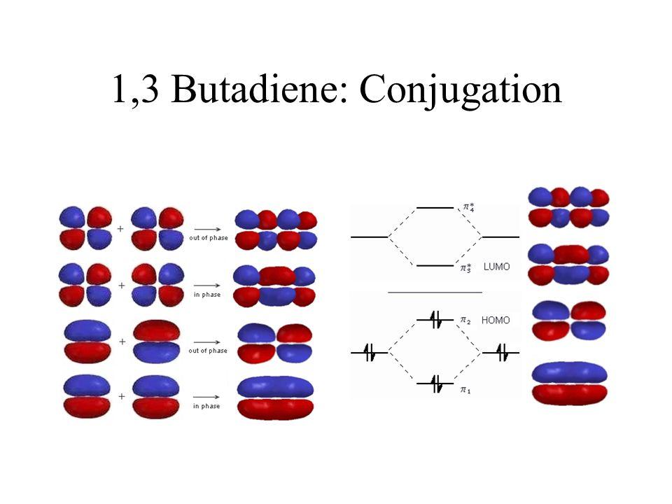 1,3 Butadiene: Conjugation