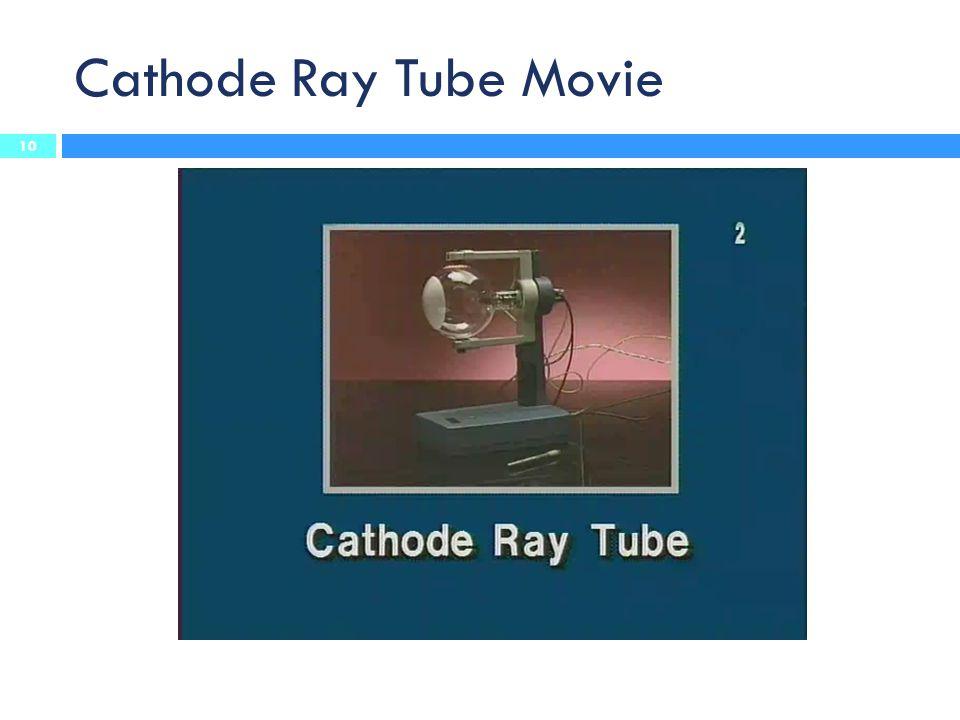 Cathode Ray Tube Movie 10