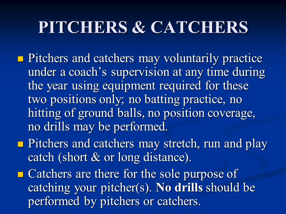 COURTESY RUNNER Courtesy Runner may be used for the pitcher or the catcher.