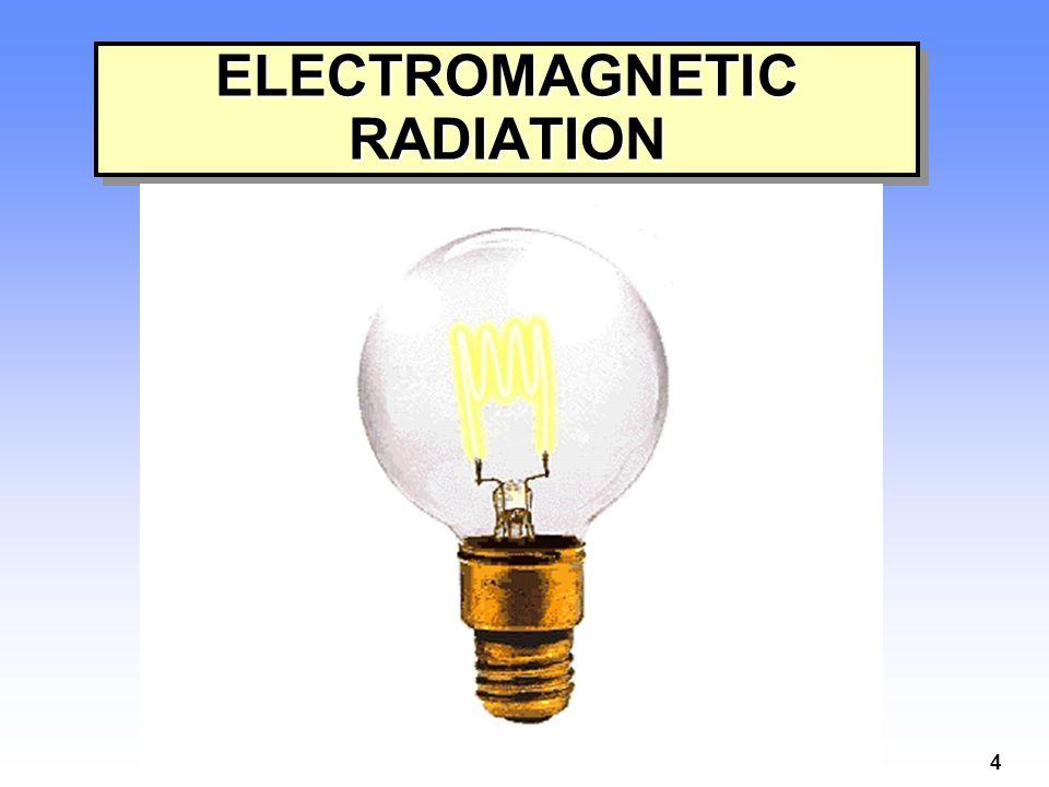 4 ELECTROMAGNETIC RADIATION
