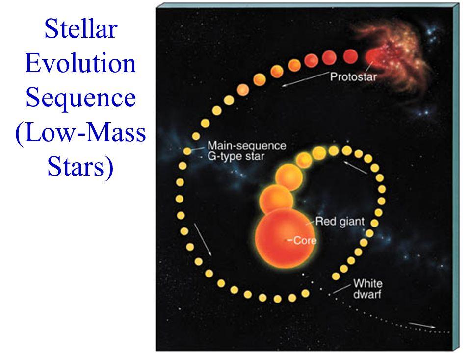 Stellar Evolution Sequence (Low-Mass Stars)