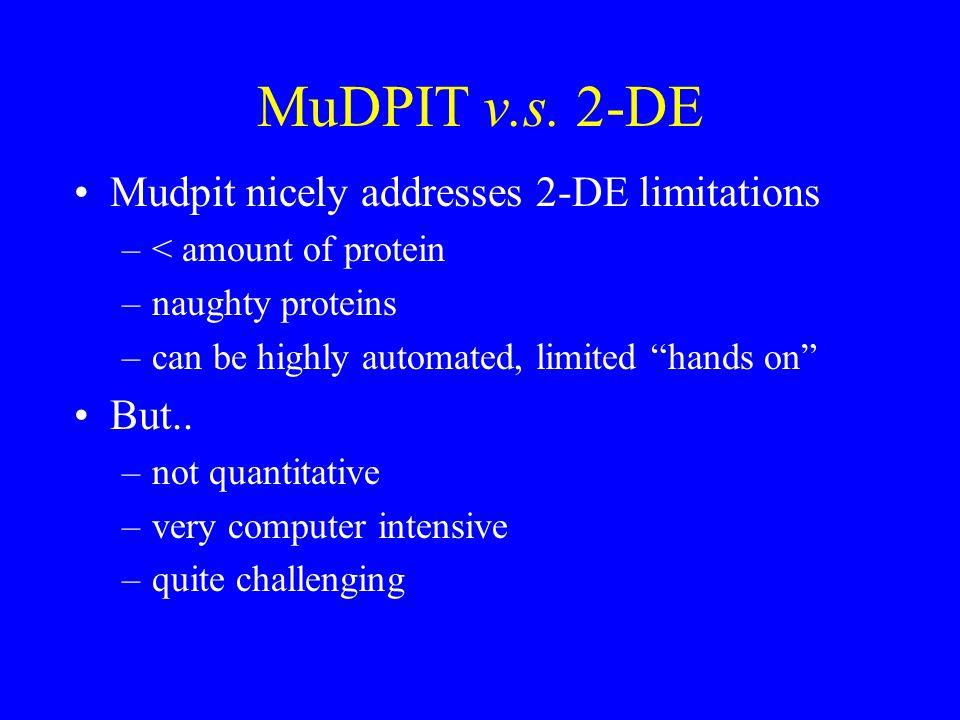 MuDPIT v.s.