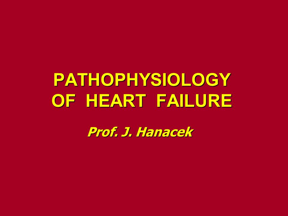 Heart failure Definition It is the pathophysiological process in which It is the pathophysiological process in which the heart as a pump is unable to meet the heart as a pump is unable to meet the metabolic requirements of the tissue for the metabolic requirements of the tissue for oxygen and substrates despite the venous oxygen and substrates despite the venous return to heart is either normal or increased return to heart is either normal or increased