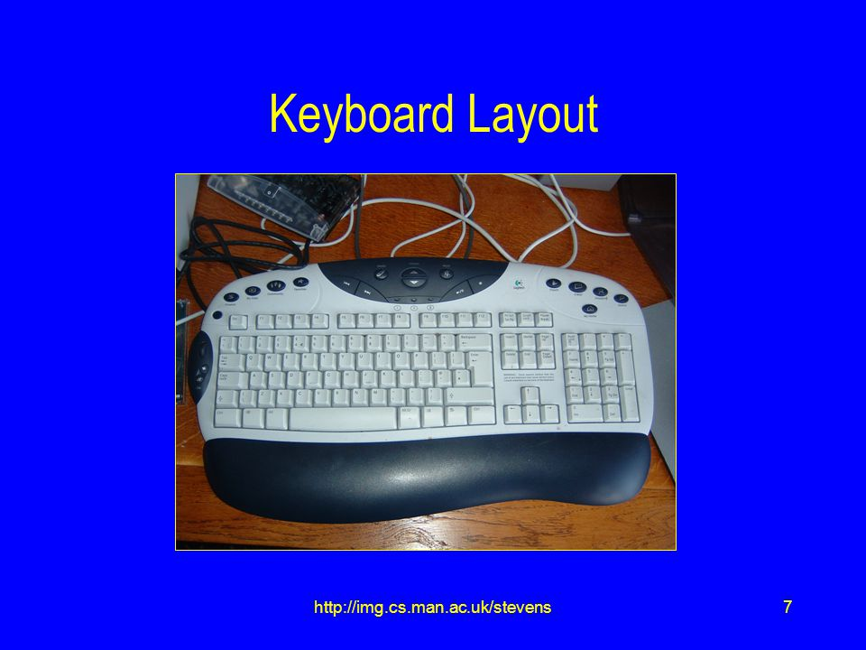 7http://img.cs.man.ac.uk/stevens Keyboard Layout
