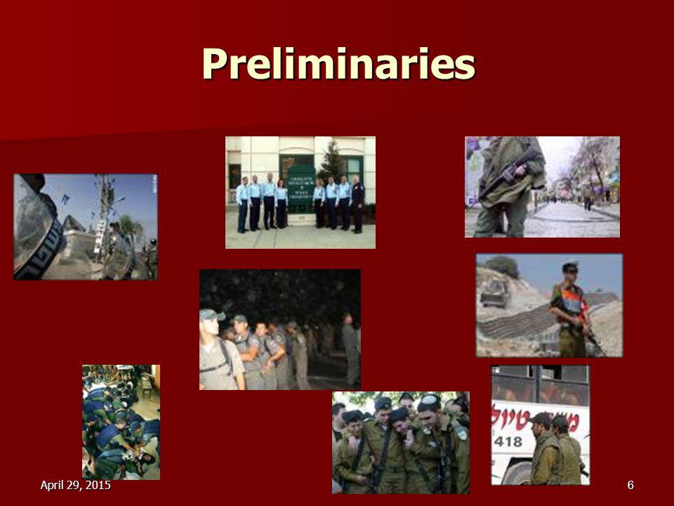 April 29, 2015April 29, 2015April 29, 20156 Preliminaries