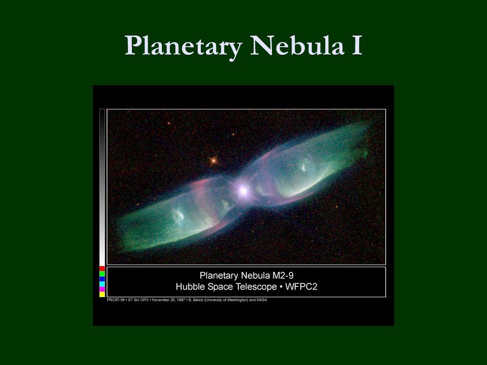 Planetary Nebula I