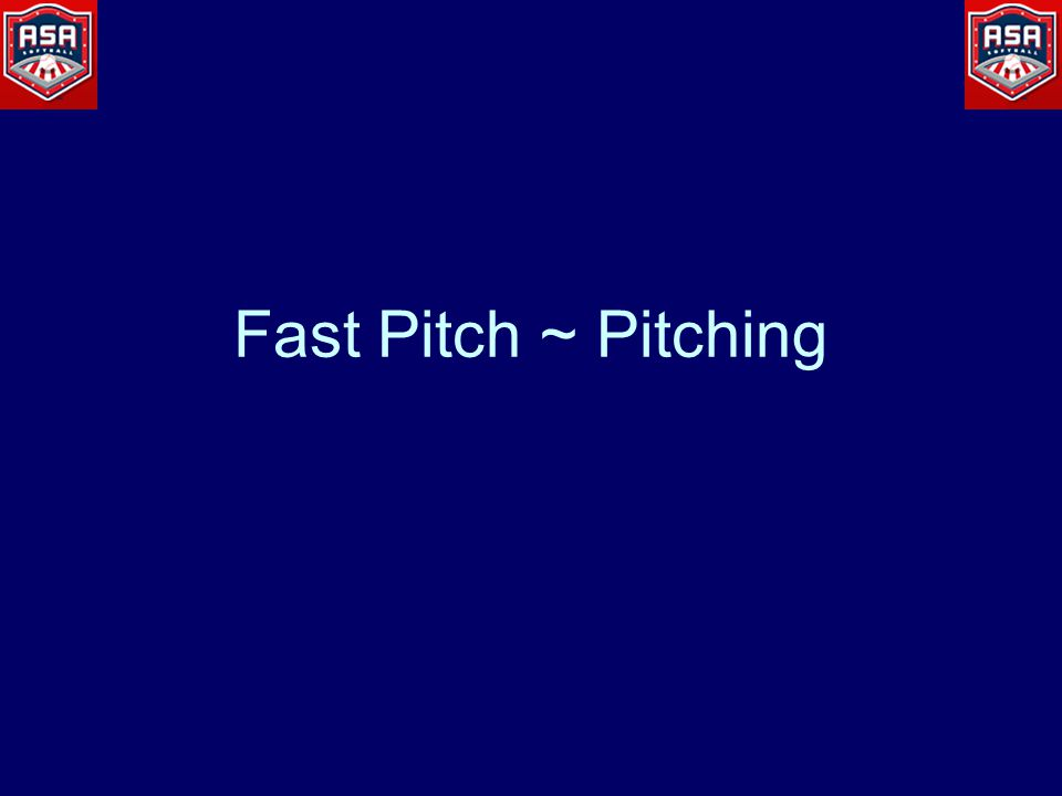 Fast Pitch ~ Pitching