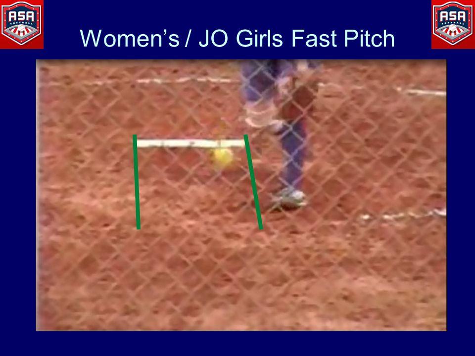 Women's / JO Girls Fast Pitch