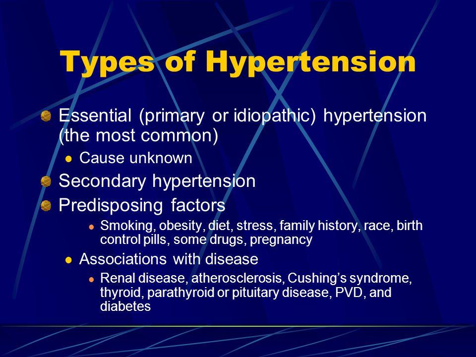 Hypertension, cont.