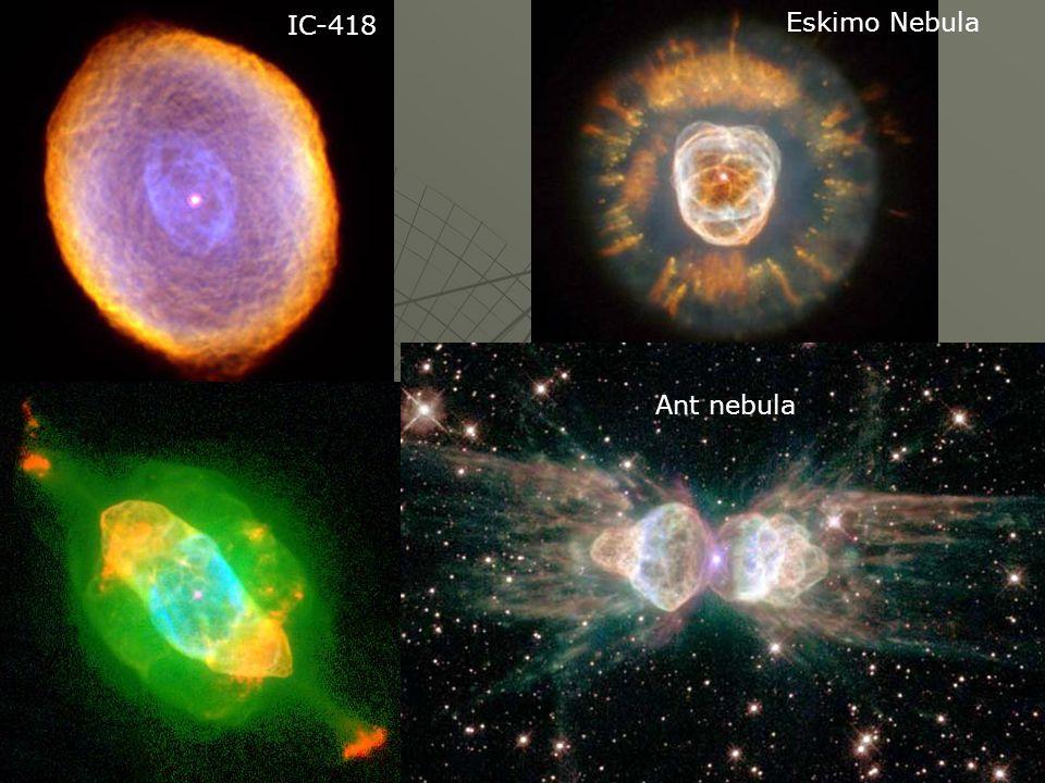 Eskimo Nebula IC-418 Ant nebula
