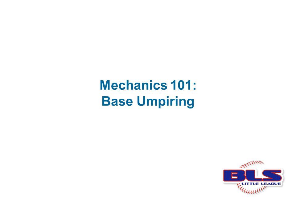 Mechanics 101: Base Umpiring
