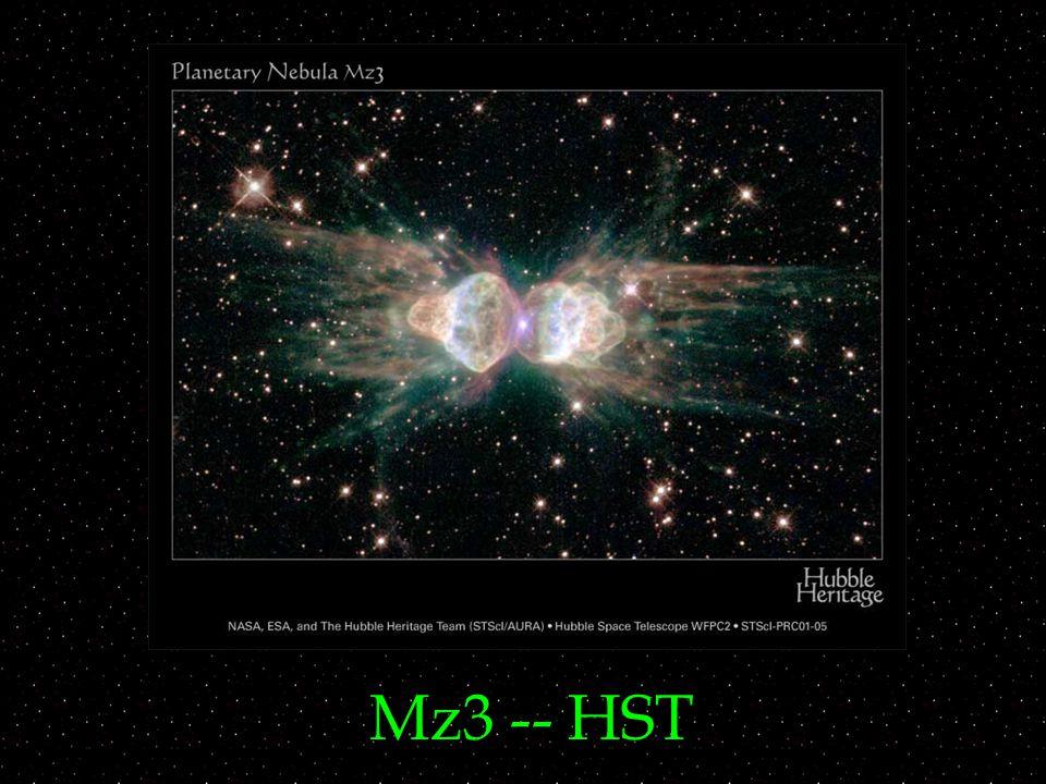 Mz3 -- HST