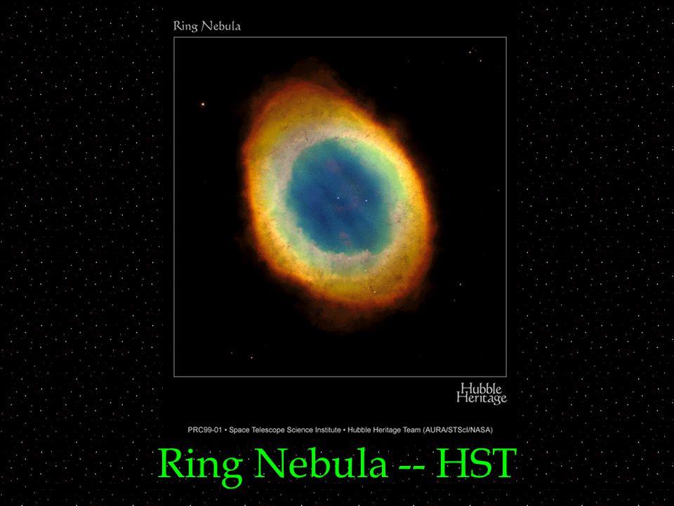 Ring Nebula -- HST