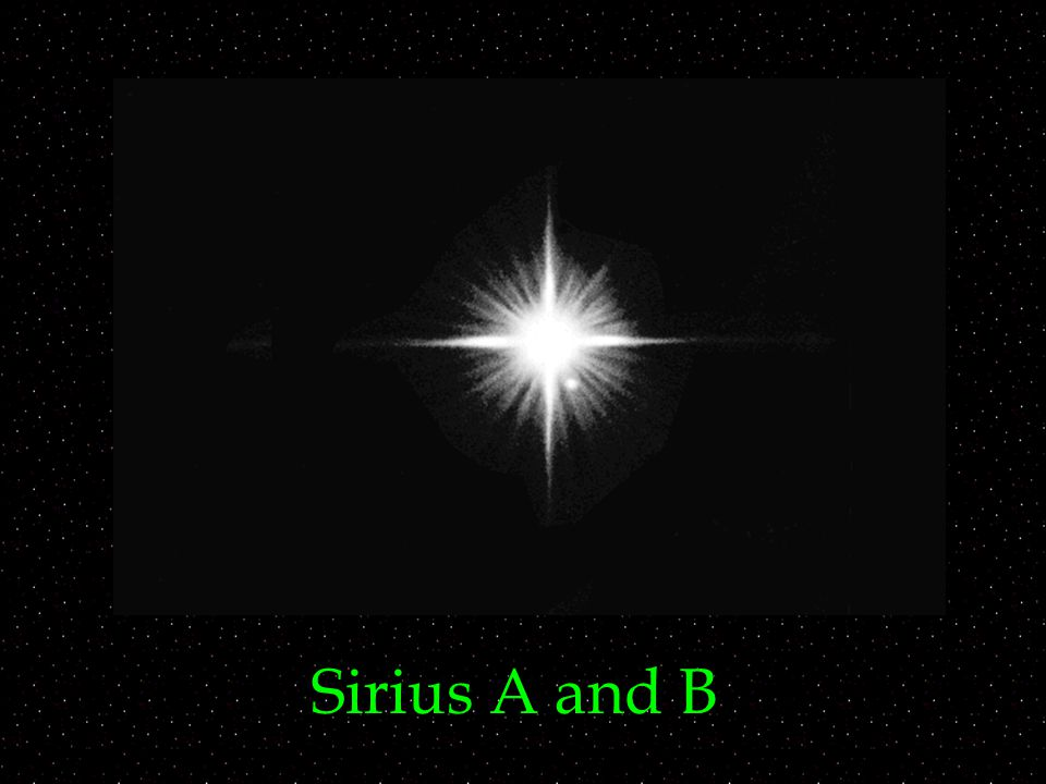 Sirius A and B