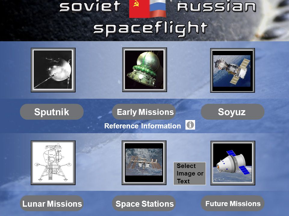 International Space Station (ISS) – 1998 to present Key Soviet/Russian ISS components are shown February 2010.
