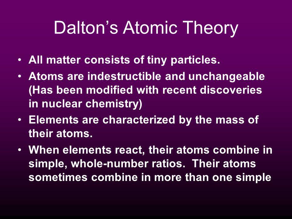 ATOMIC STRUCTURE Particle proton neutron electron Charge + charge - charge No charge 1amu nil Mass