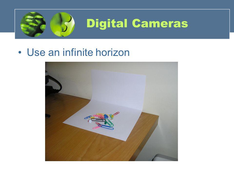 Digital Cameras Use an infinite horizon