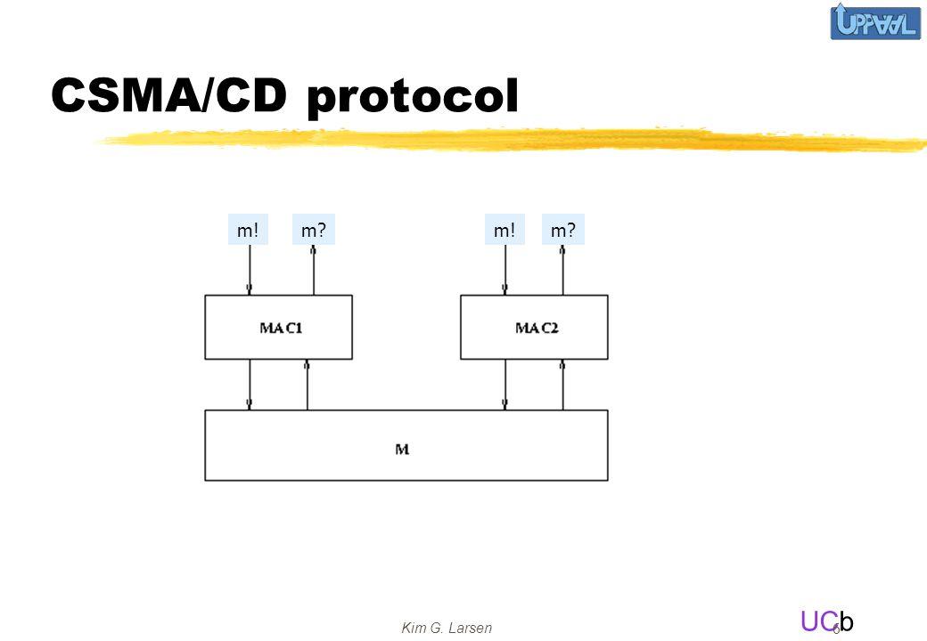 UCb Kim G. Larsen 6 CSMA/CD protocol m!m?m!m?