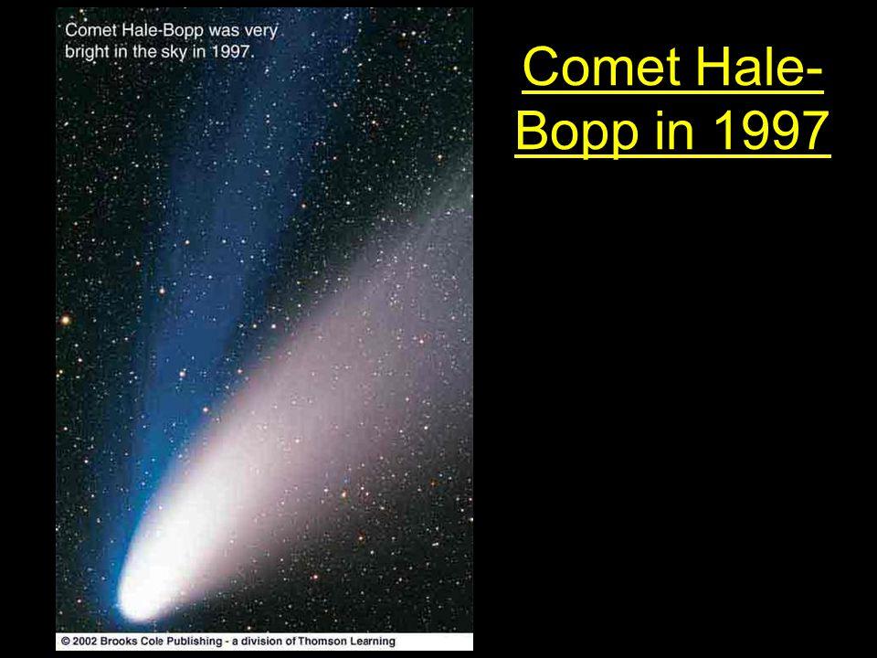 Comet Hale- Bopp in 1997