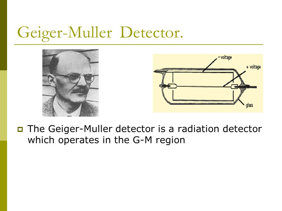 Summary  When radiation enters an ionization chamber, the detector gas at the point of incident radiation becomes ionized.