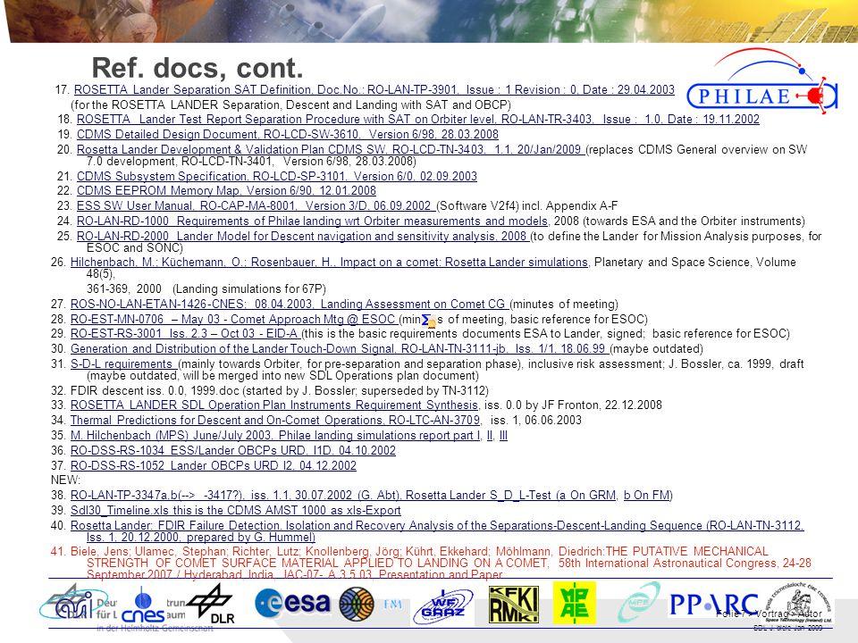 SDL J.biele Jan 2009 Folie 7 > Vortrag > Autor Ref.