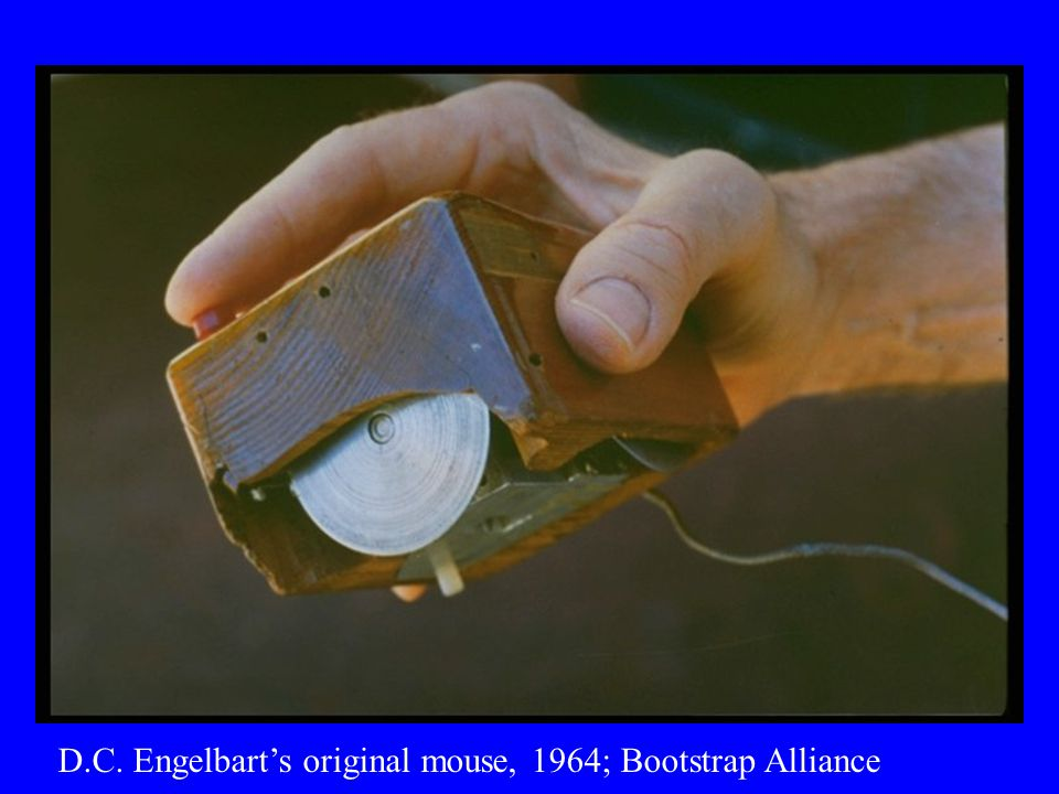 D.C. Engelbart's original mouse, 1964; Bootstrap Alliance
