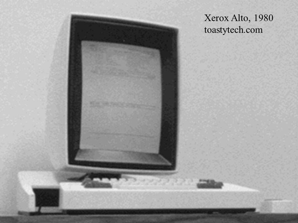 Xerox Alto, 1980 toastytech.com