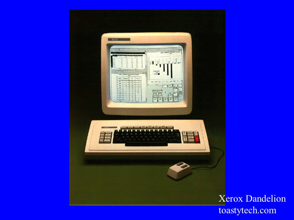 Xerox Dandelion toastytech.com