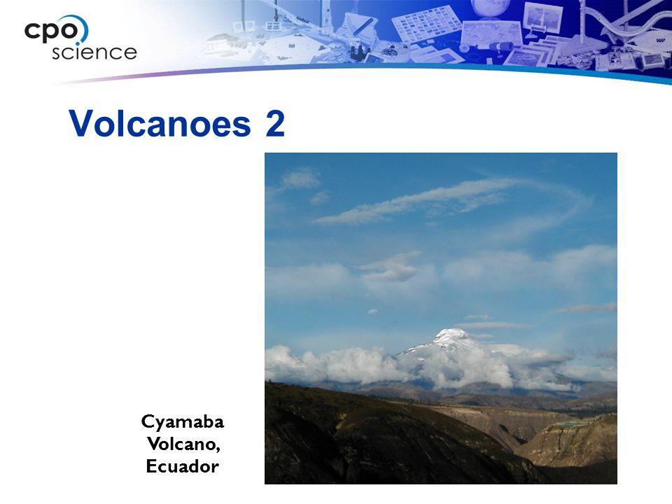 Volcanoes 2 Cyamaba Volcano, Ecuador