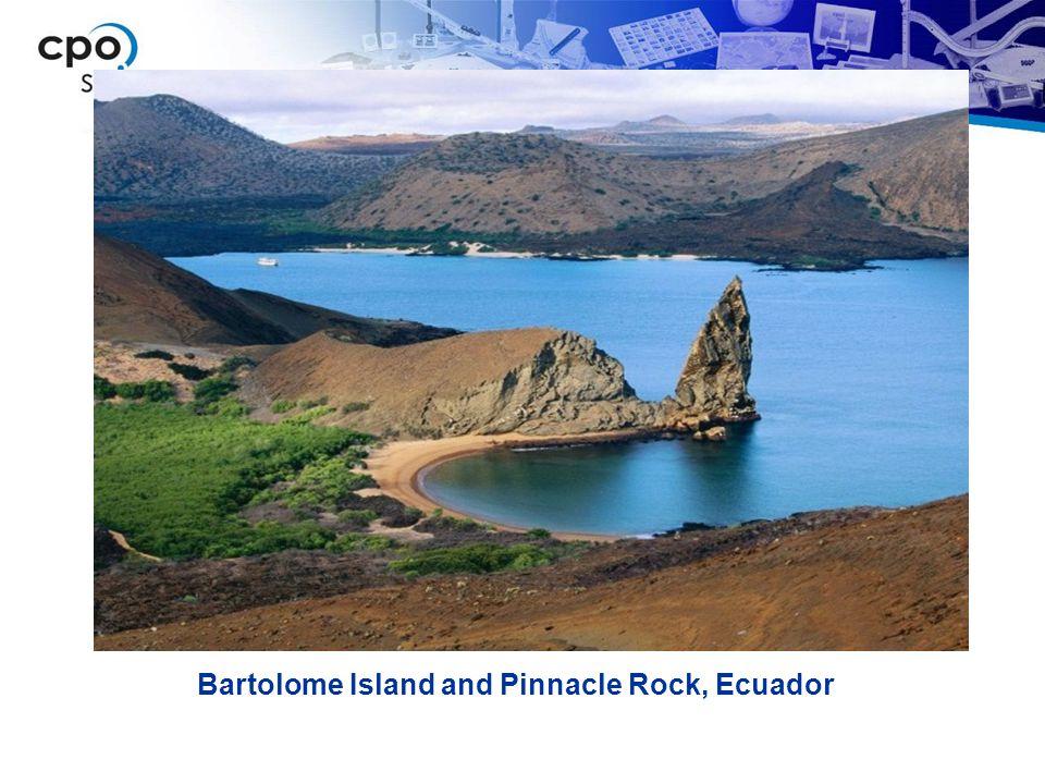 Bartolome Island and Pinnacle Rock, Ecuador
