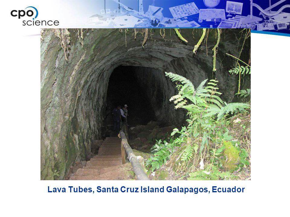 Lava Tubes, Santa Cruz Island Galapagos, Ecuador