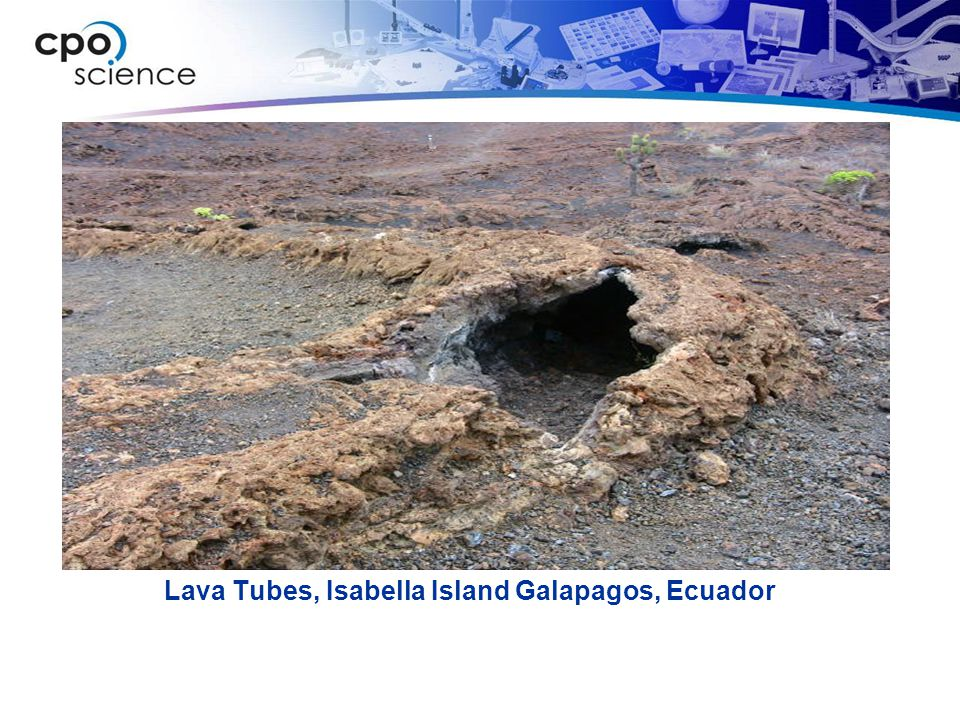 Lava Tubes, Isabella Island Galapagos, Ecuador