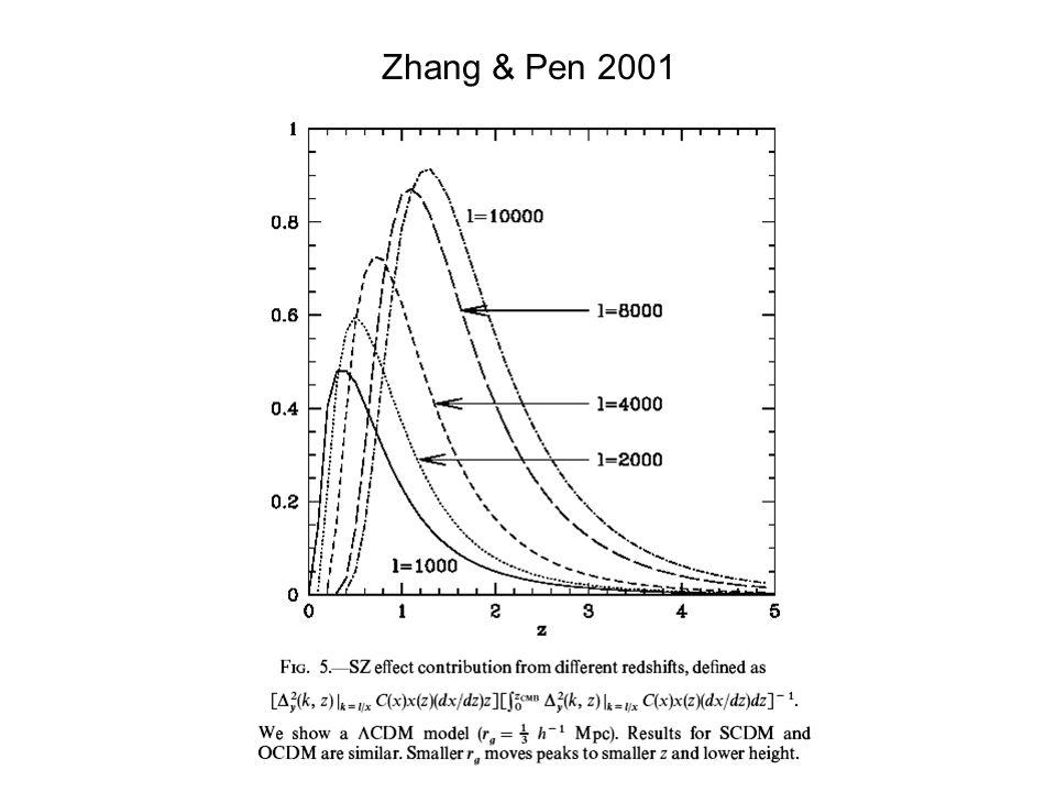 Zhang & Pen 2001