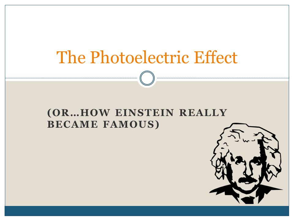 Photo (light) + electric A photoelectric effect is any effect in which light energy is converted to electricity.