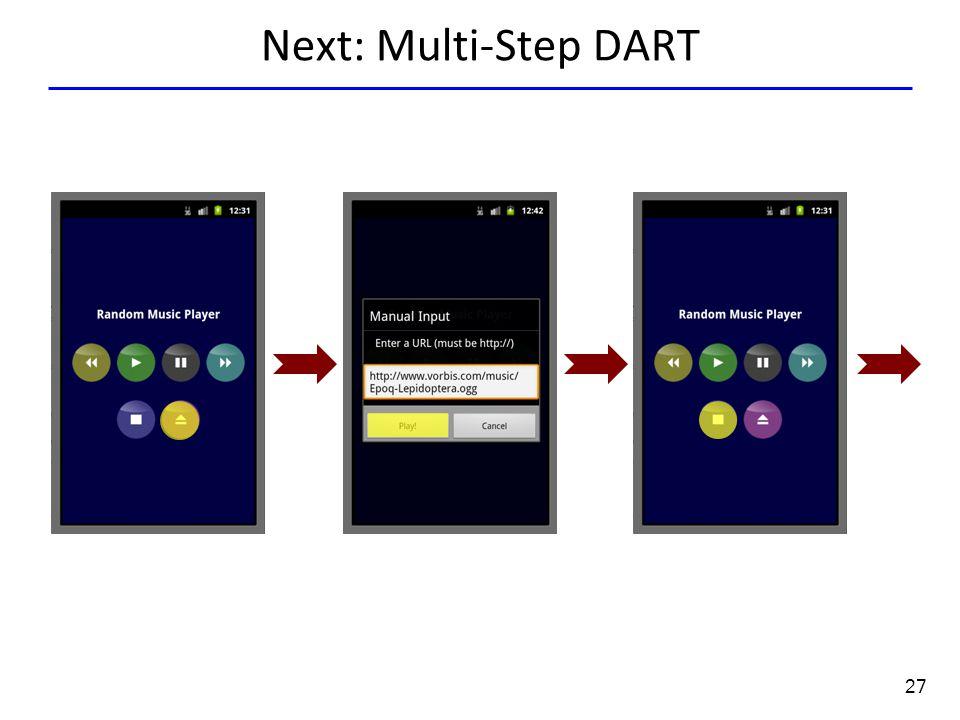 27 Next: Multi-Step DART