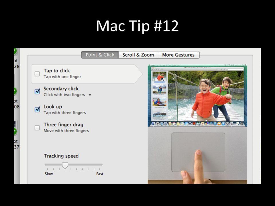 Mac Tip #12