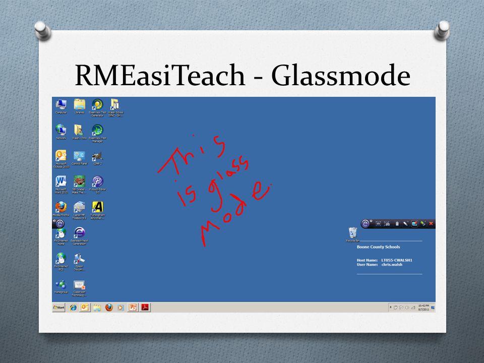 RMEasiTeach - Glassmode