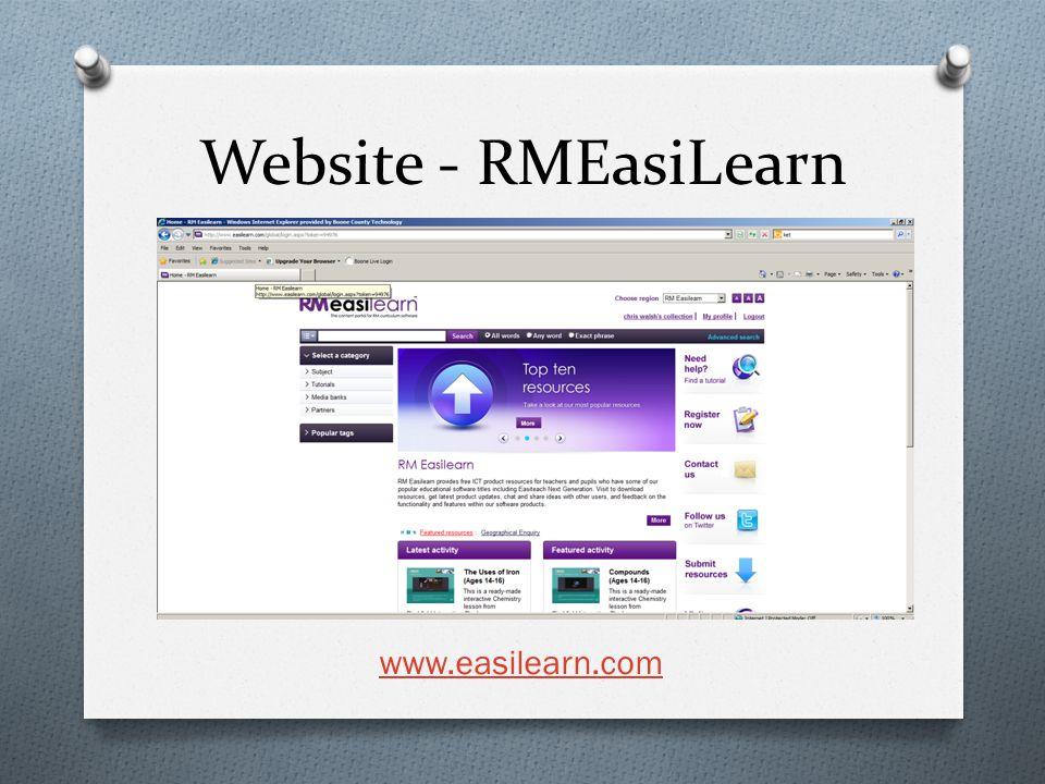 Website - RMEasiLearn www.easilearn.com