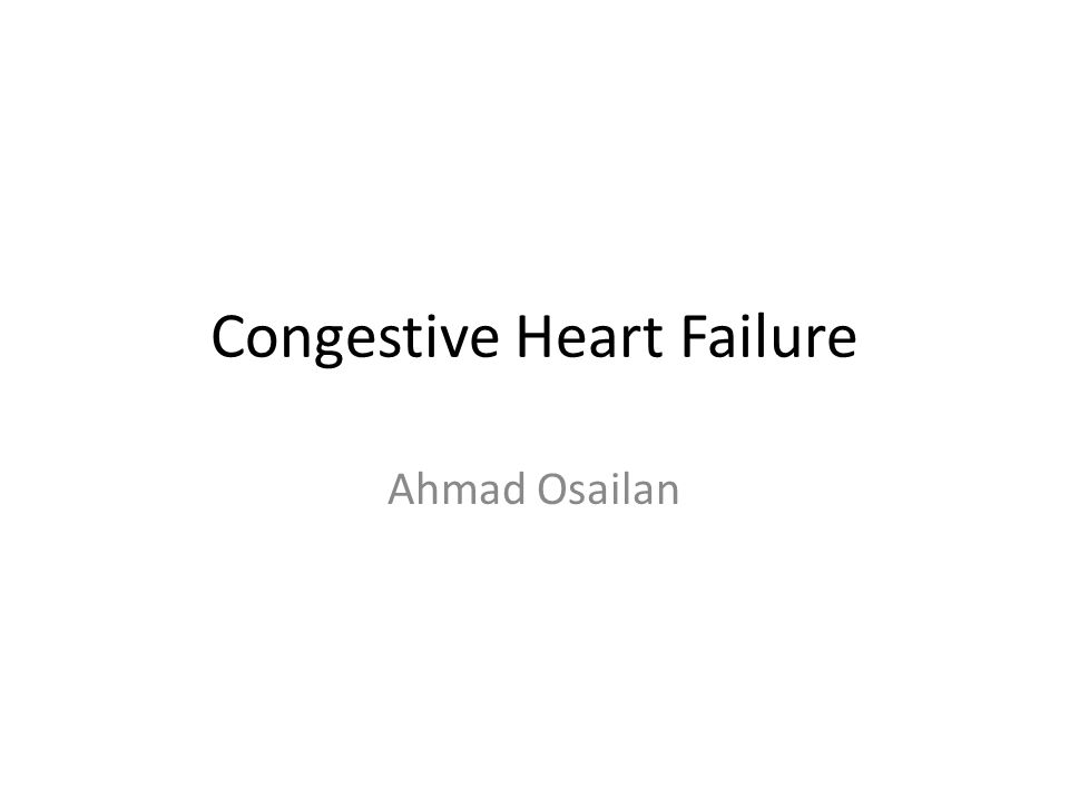 What is Heart Failure Results from any structural or functional abnormality that impairs the ability of the ventricle to eject blood (Systolic Heart Failure) or to fill with blood (Diastolic Heart Failure).