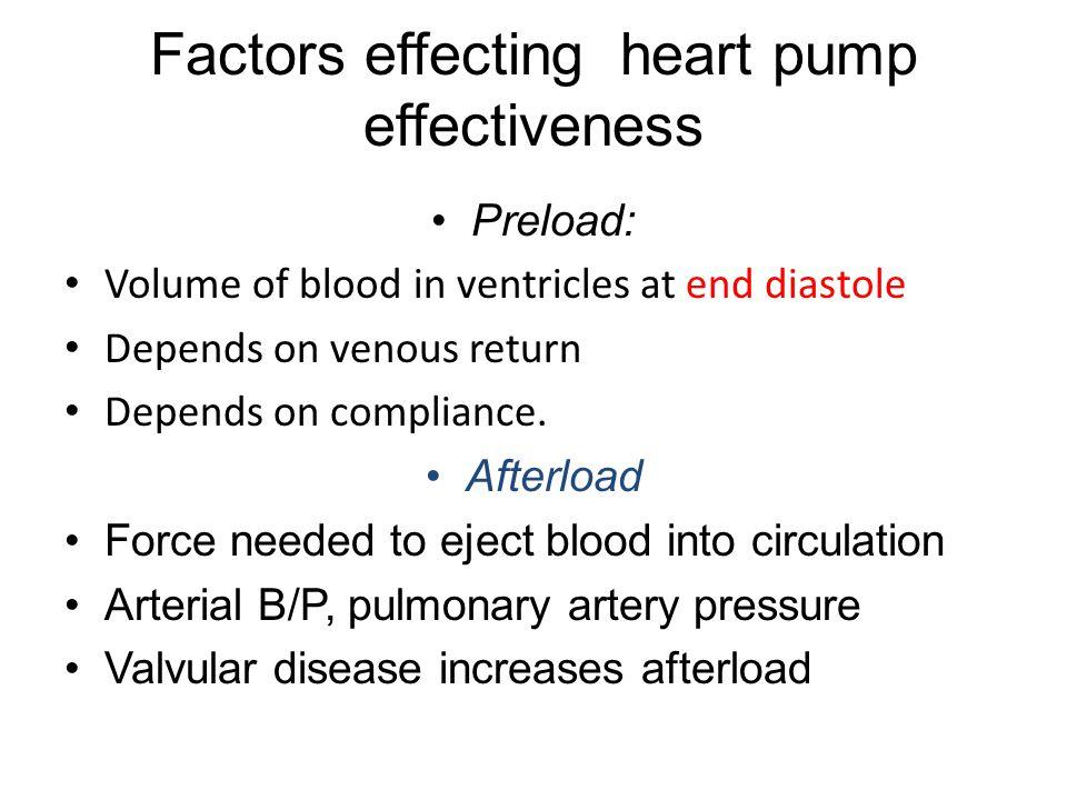 Mechanism of HF All organs (liver, lungs, legs, etc.) return blood to heart When heart begins to fail/ weaken> unable to pump blood forward-fluid backs up > Inc.