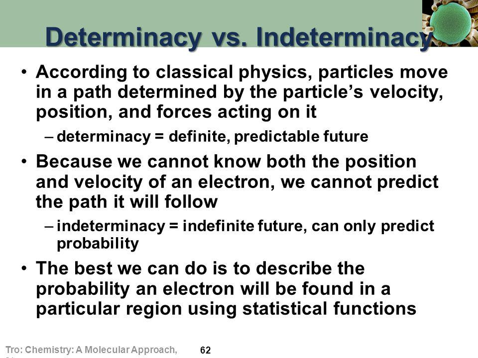 Determinacy vs.