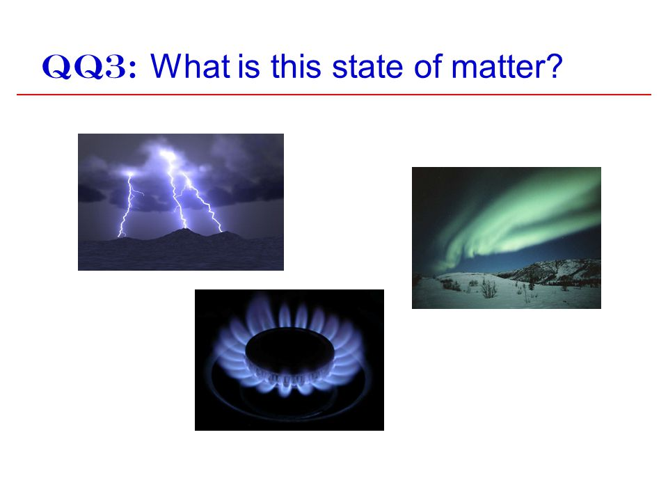 QQ3: What is this state of matter?