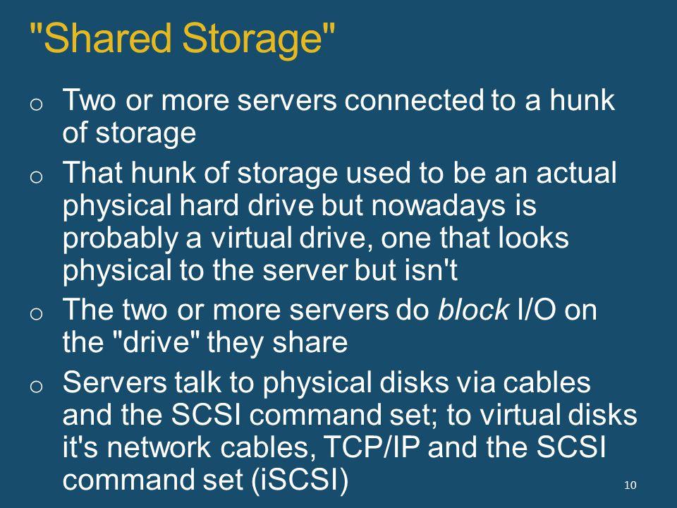 Shared Storage 10