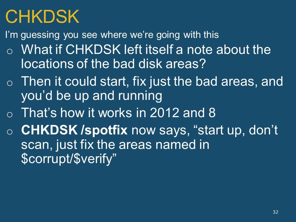 CHKDSK 32