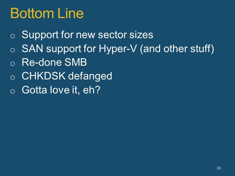 Bottom Line 33