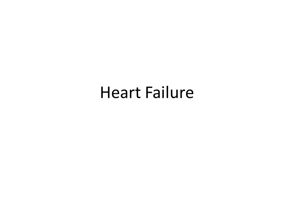 Heart Failure