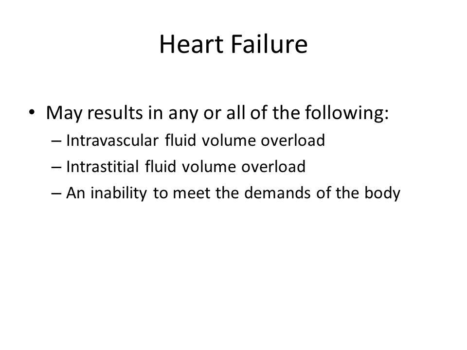 Left-Sided Heart Failure Signs & Symptoms are related to: *Decreased Cardiac Output *Pulmonary Congestion: Pulmonary edema Pleural Effusion