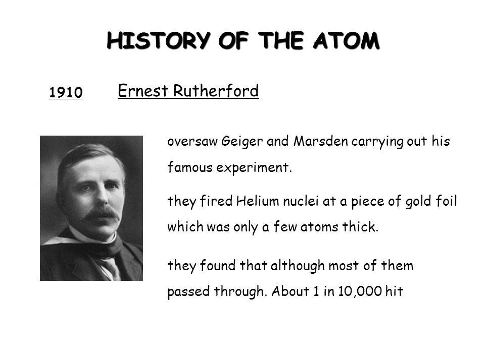 ATOMIC STRUCTURE Particle proton neutron electron Charge + ve charge -ve charge No charge 1 1 nil Mass