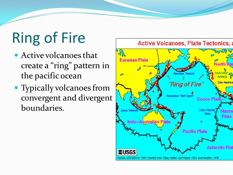 Convergent Volcanoes Volcanoes that form from plates colliding or subducting.